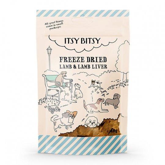 ItsyBitsy Dog Freeze Dried Lamm & Lever