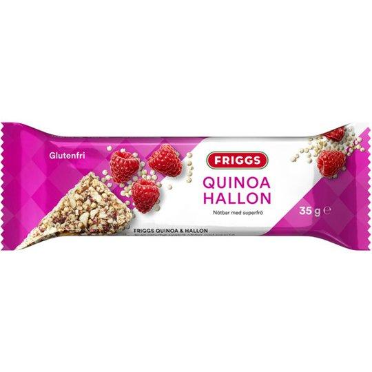 Nötbar Quinoa & Hallon 35g - 76% rabatt
