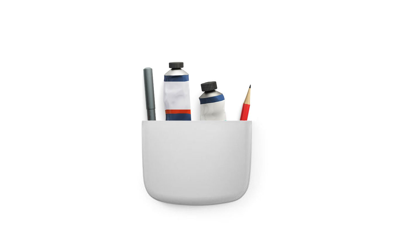 Normann Copenhagen - Pocket Organizer 2 - Light Grey (382016)