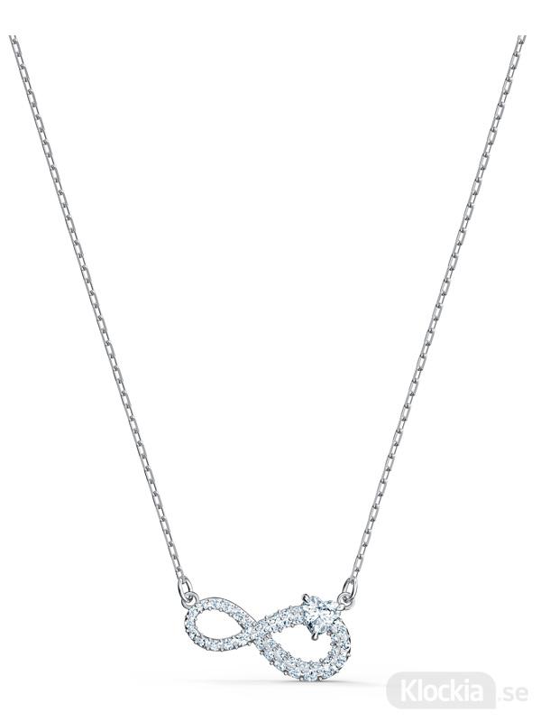 Damsmycke Swarovski Halsband Infinity