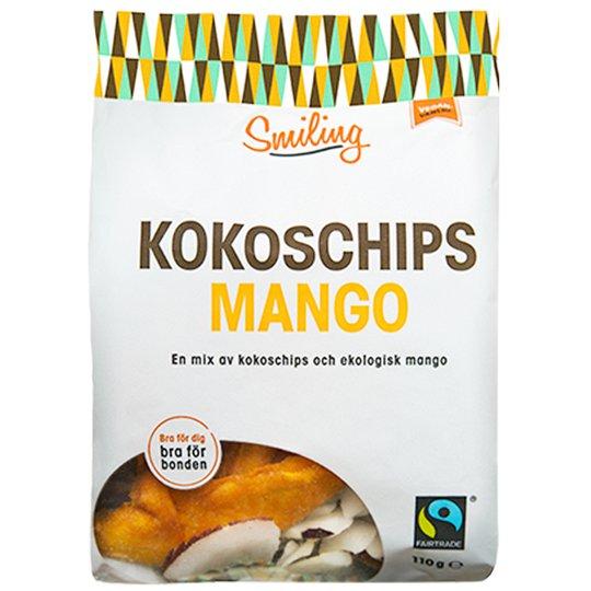 Eko Kokoschips Mango 110g - 28% rabatt