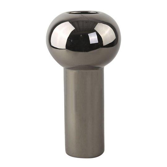 Cooee - Pillar Vas 24 cm Mörk silver