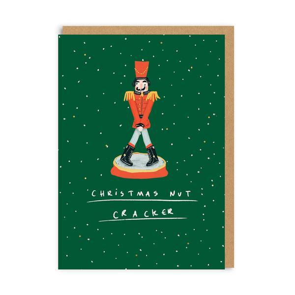 Christmas Nut Cracker Christmas Card