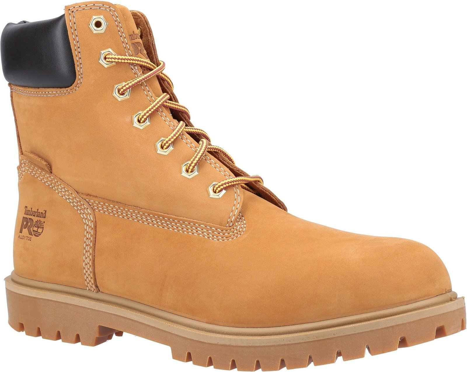 Timberland Pro Men's Iconic Safety Toe Work Boot Various Colours 30949 - Wheat 6