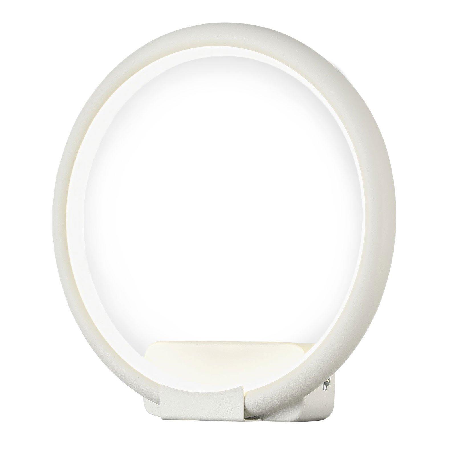 Nola LED-vegglampe, lukket ring