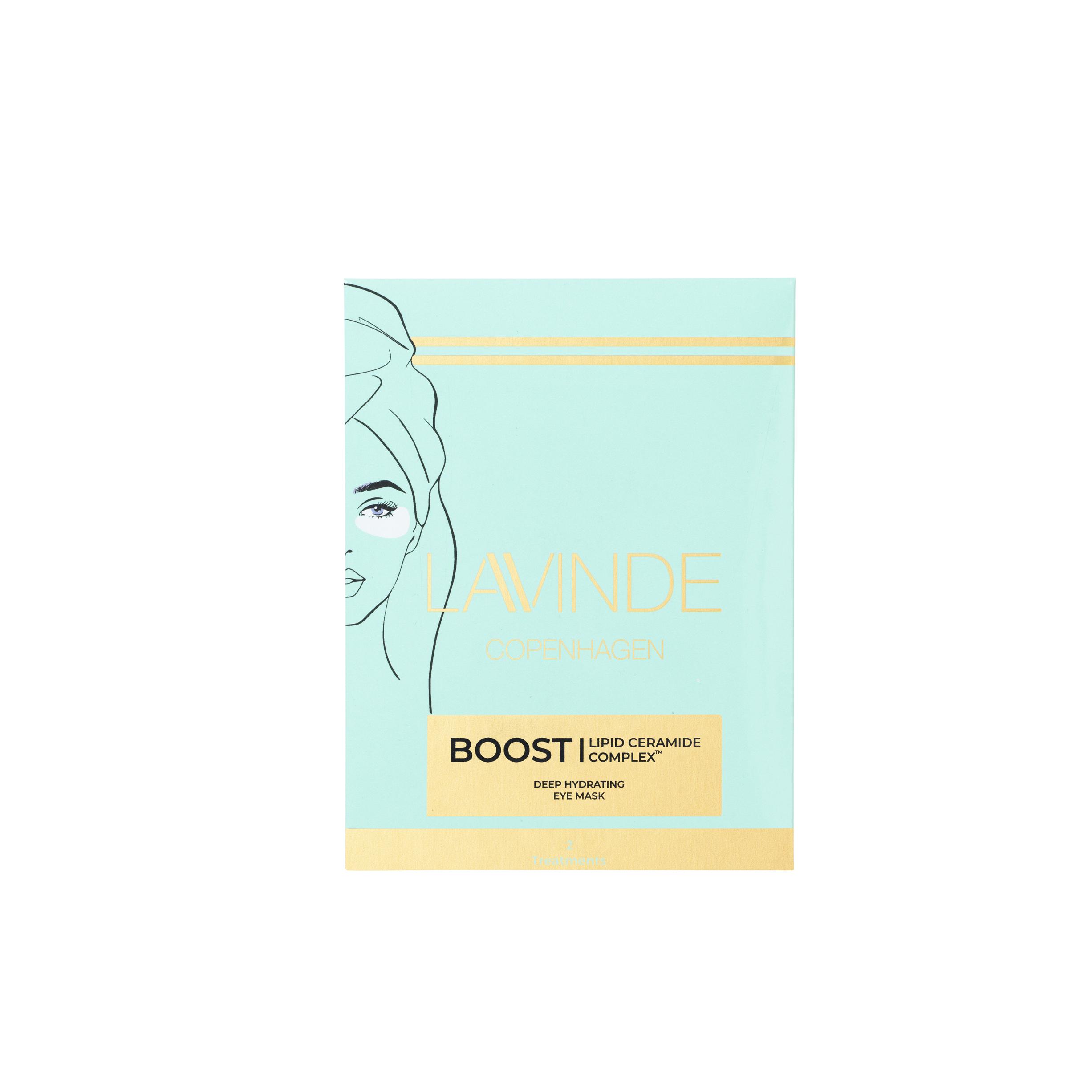 Lavinde Copenhagen - Boost Deep Hydrating Eye Mask - 2 Treatments