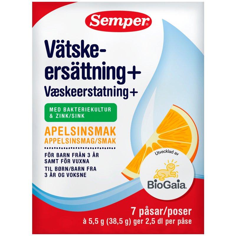 Vätskeersättning Apelsin 7 dospåsar - 51% rabatt