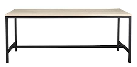 Everett Matbord Vitpigmenterad ek 180 cm