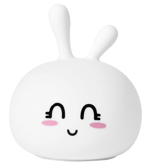 Rabbit & Friends Lampe Stor Kanin, Happy Hvit