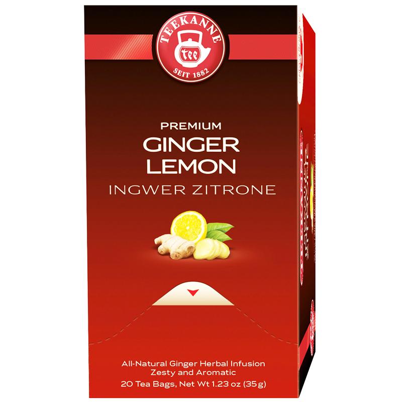 """Te """"Ginger Lemon"""" 20 x 1,35g - 67% rabatt"""