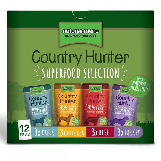 Natures:menu Country Hunter Dog Multipack 12x150 g