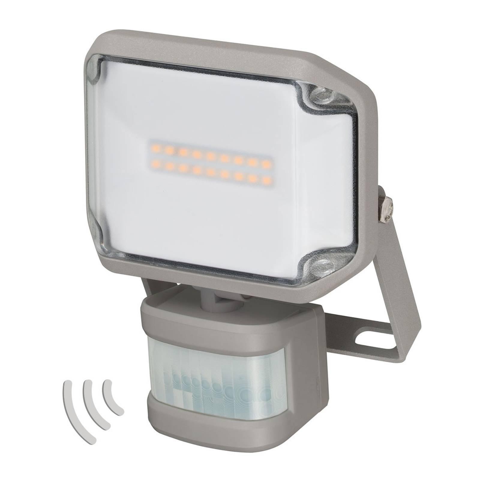 Utendørs LED-spot AL IR-sensor IP44 10W