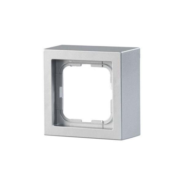 ABB Impressivo Forhøyningsramme aluminium 1 rom
