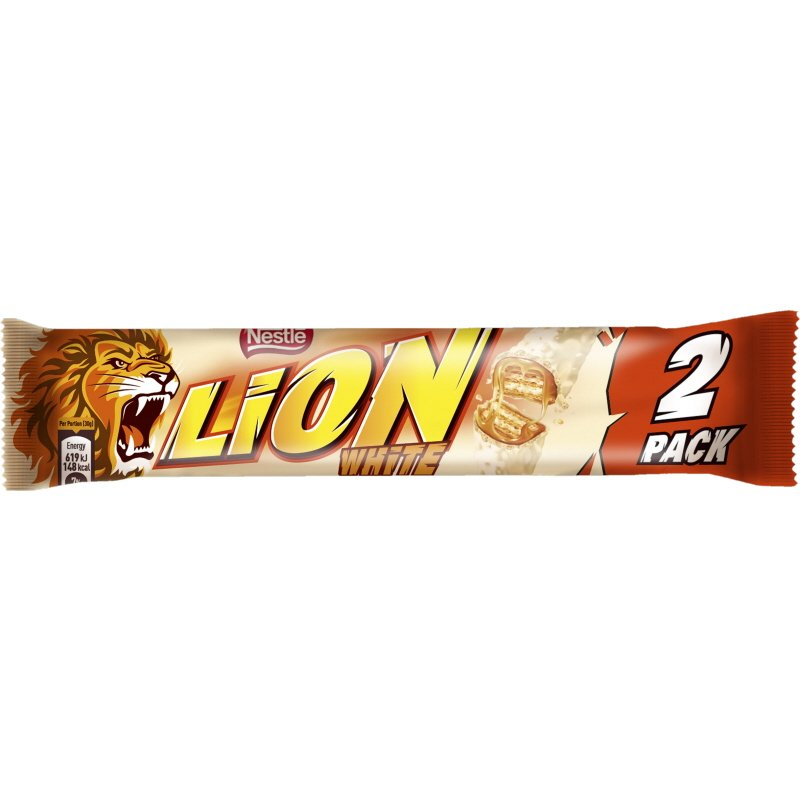 Lion white 2-pack - 41% rabatt