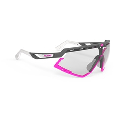 Rudy Project Defender Matte White/Fuxia Lens