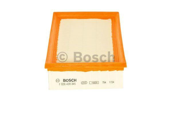 Ilmansuodatin BOSCH F 026 400 345