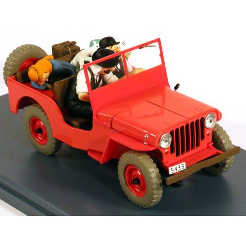 Rød Jeep Willys (Landet med det Sorte Guld)