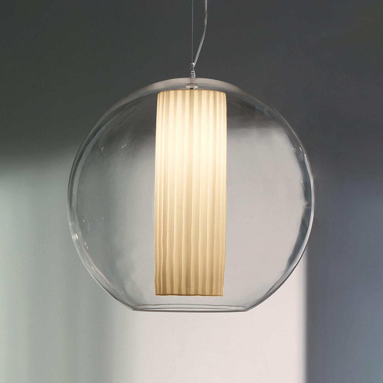 Modo Luce Bolla riippuvalaisin, valkoinen Ø 50 cm