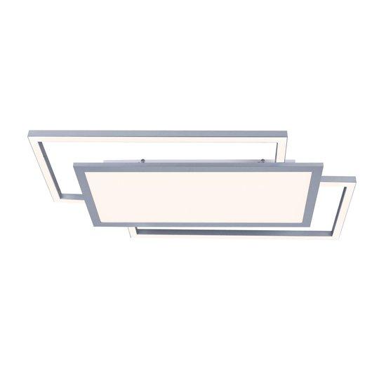 Lucande Ciaran -LED-kattovalaisin, suorakaide, CCT