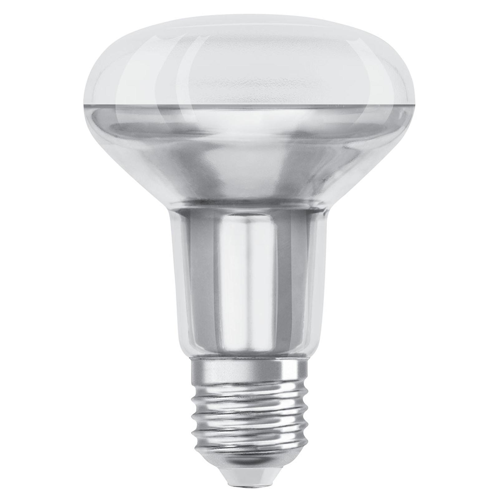 OSRAM-LED-heljastin E27 R80 9,6W 2 700 K 36° dim