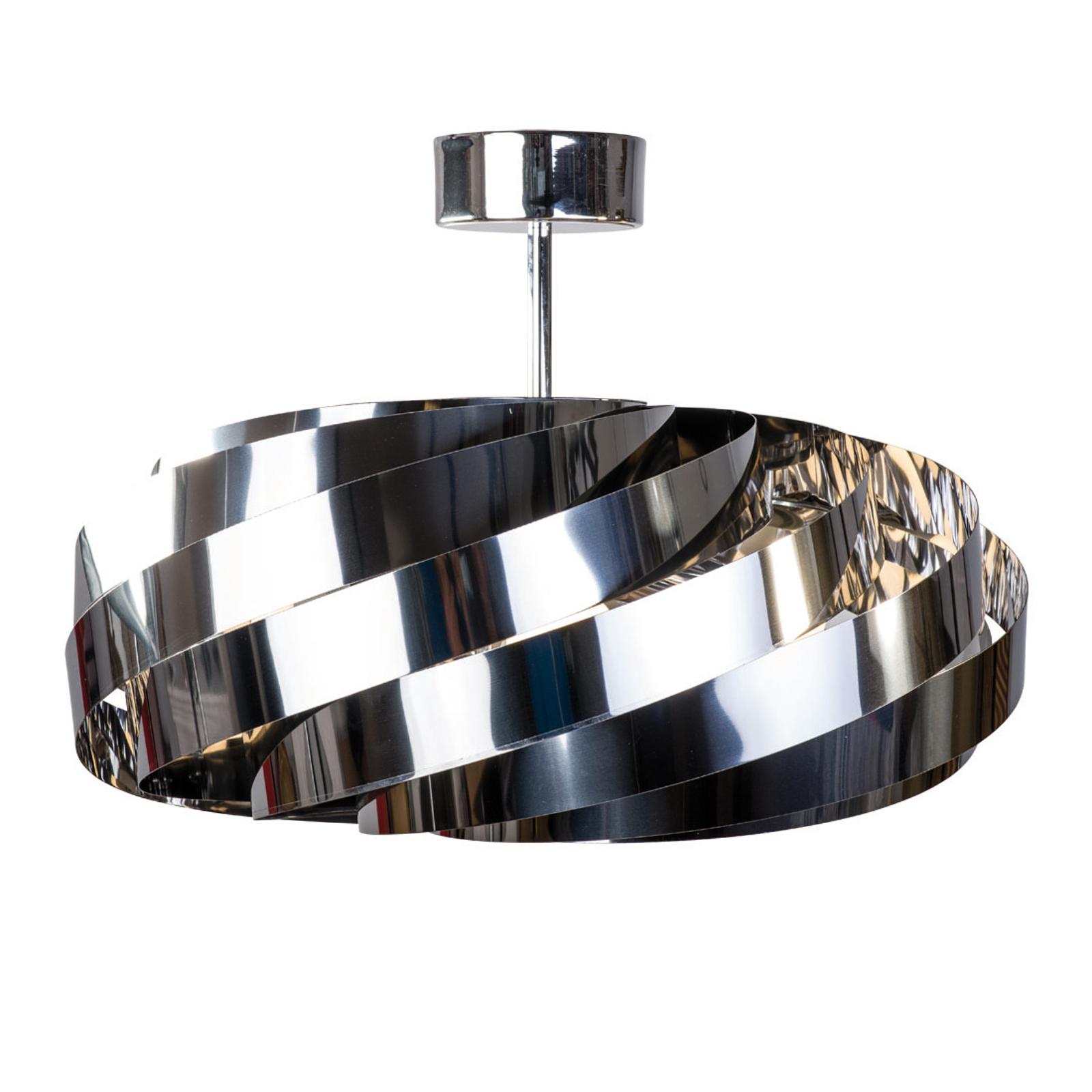 Kattovalaisin Vento, kromi-nikkeli, Ø 60 cm