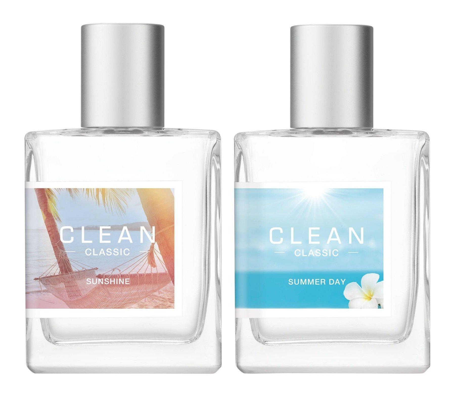 Clean - Sunshine EDT 60 ml + Summer Day EDT 60 ml