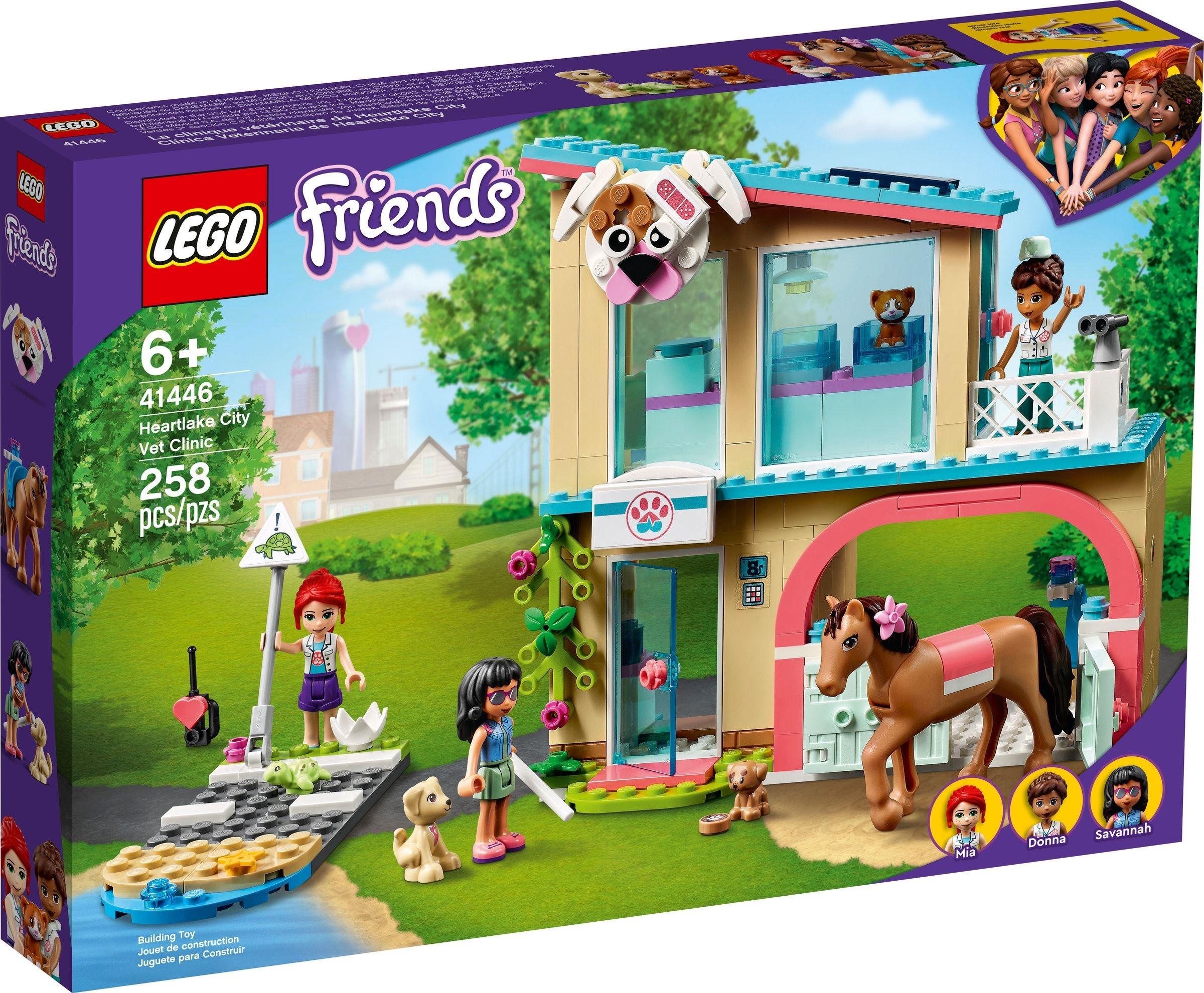 LEGO Friends - Heartlake City Vet Clinic (41446)