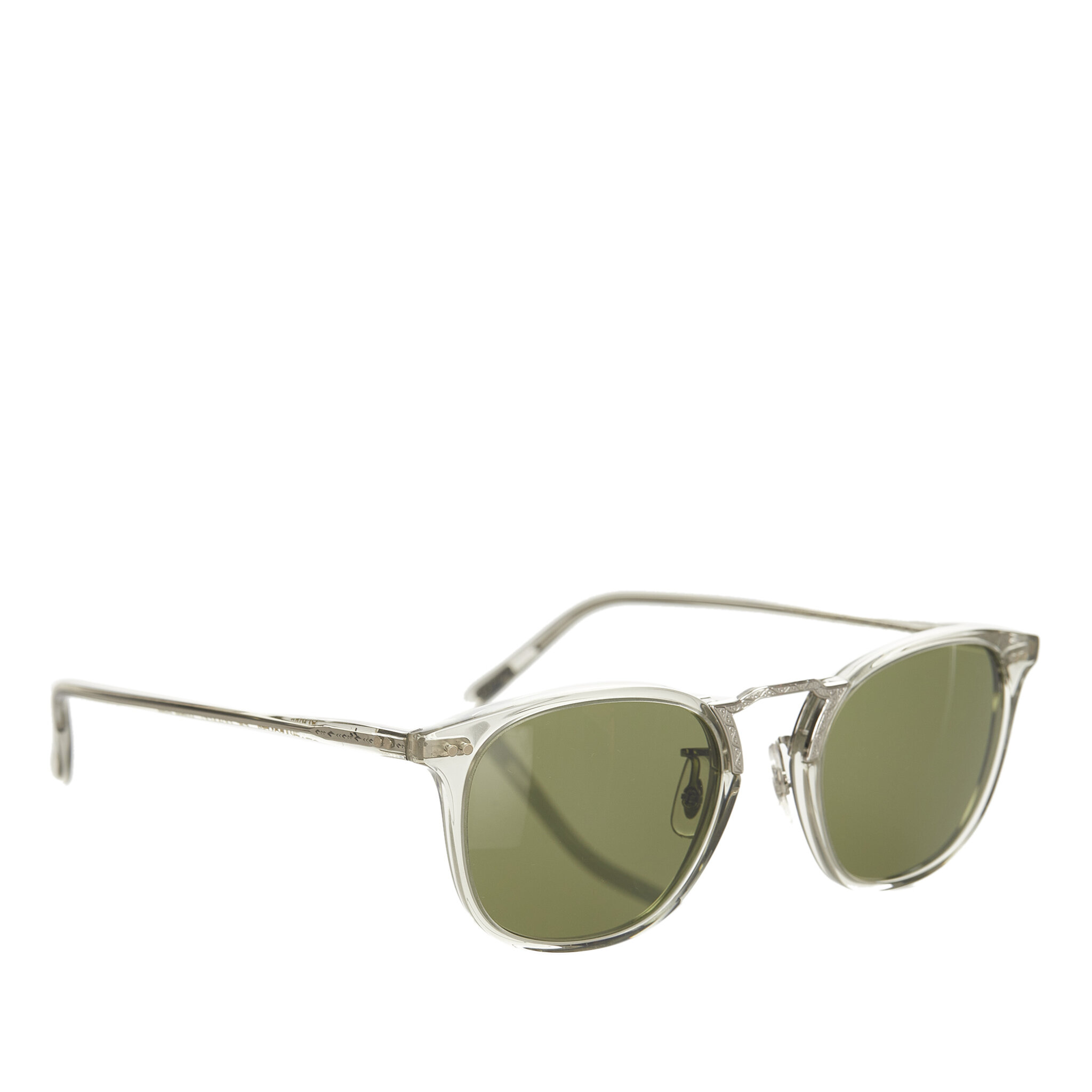 Oliver Peoples Round Tinted Sunglasses, ONESIZE