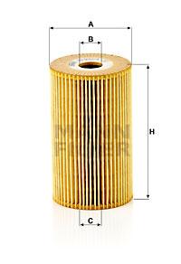 Öljynsuodatin MANN-FILTER HU 932/4 x