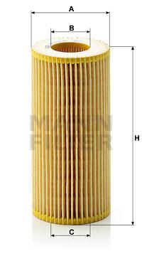 Öljynsuodatin MANN-FILTER HU 721/2 x