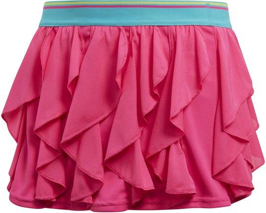 Adidas Girls Frilly Skirt Tennisskjørt, Pink 152