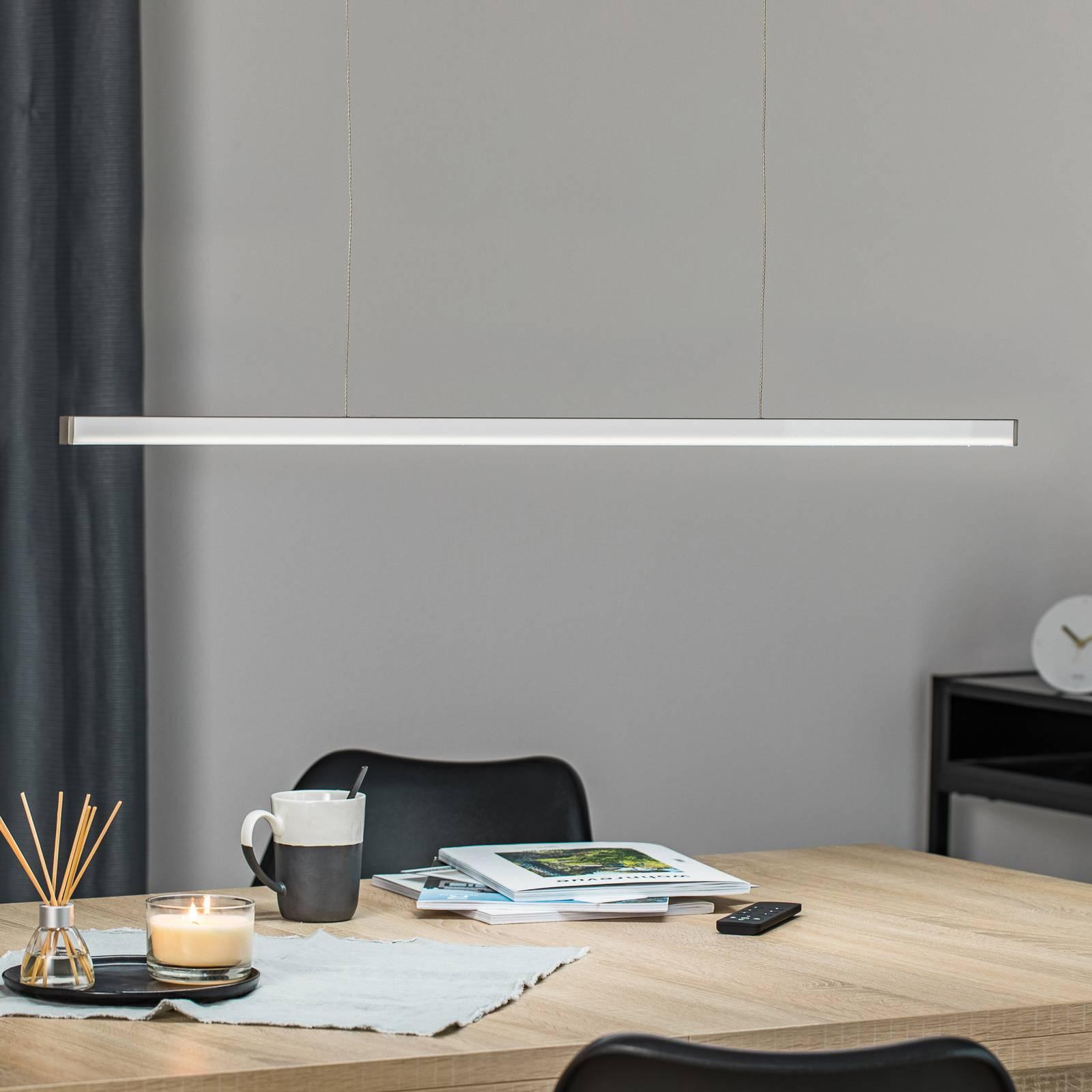 Orix-LED-riippuvalaisin, valkoinen, pituus 90 cm