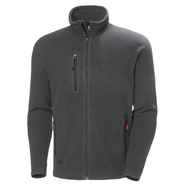 Helly Hansen Workwear Oxford Fleecejacka mörkgrå XS