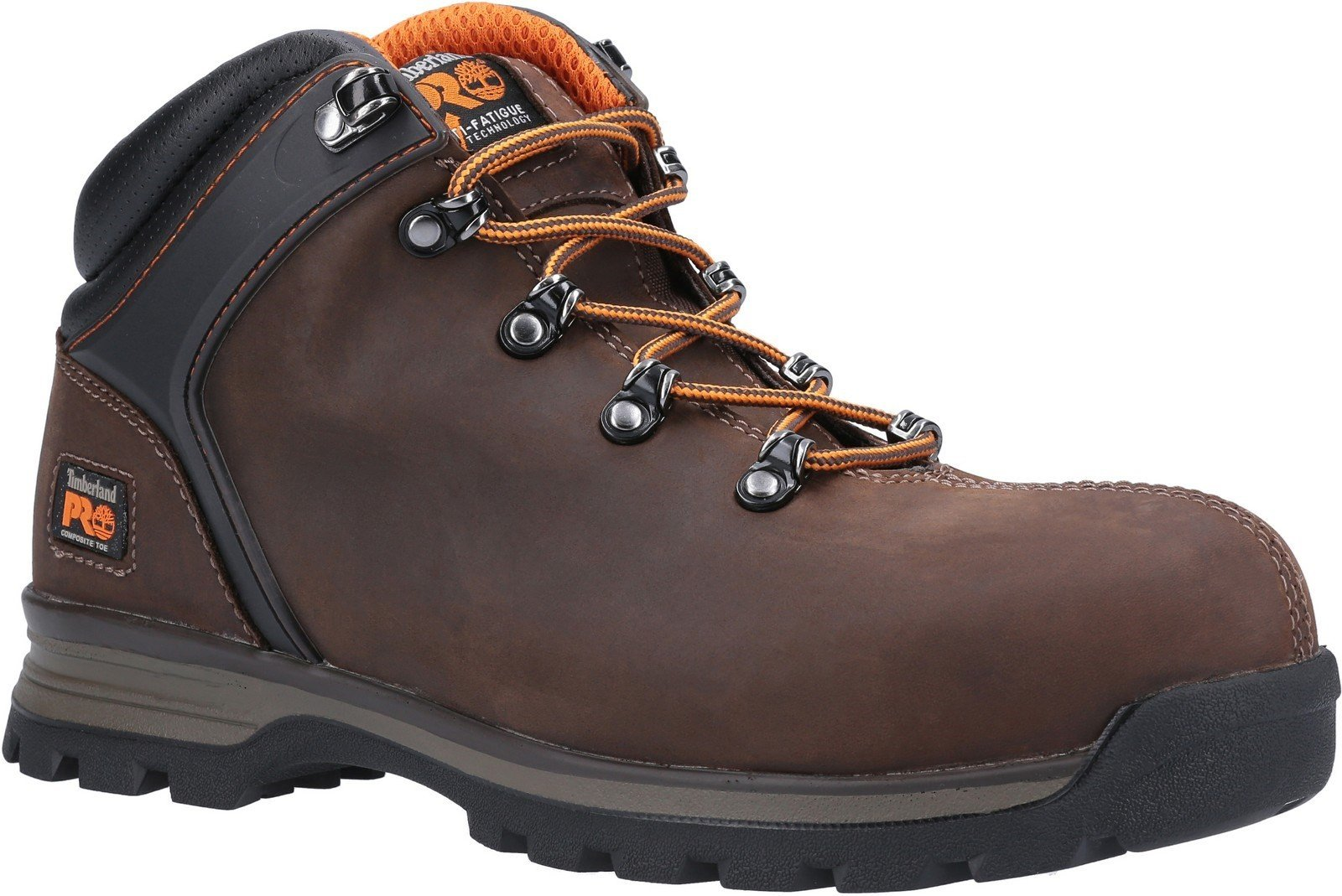 Timberland Pro Men's Splitrock XT Safety Toe Work Boot Various Colours 30950 - Brown 6