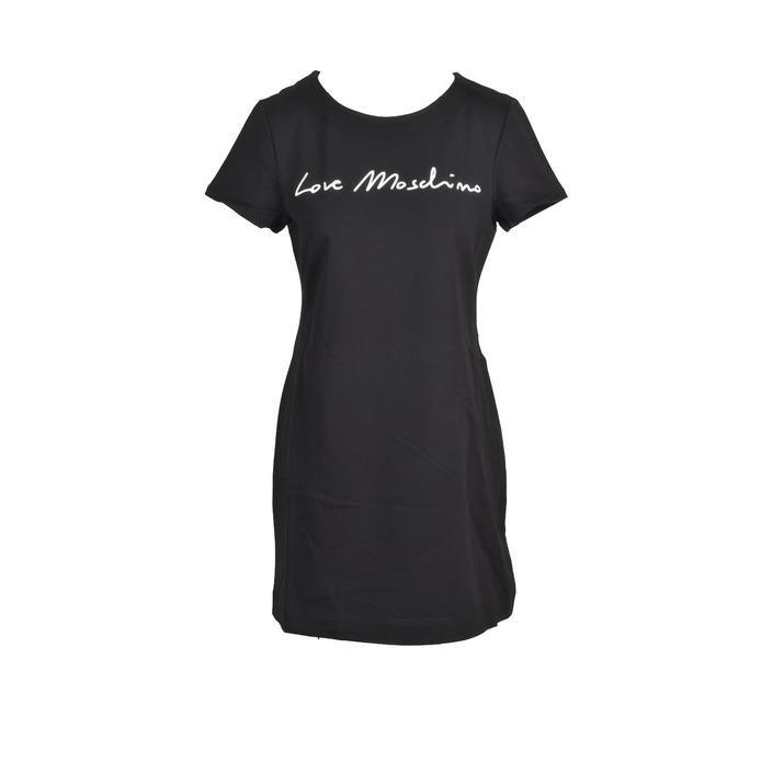 Love Moschino Women's Dress Black 322546 - black 46