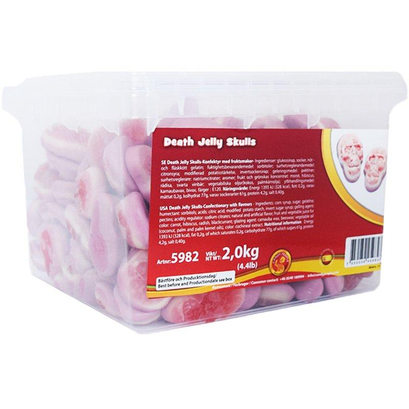 Hel Låda Gummiskallar 2kg - 51% rabatt