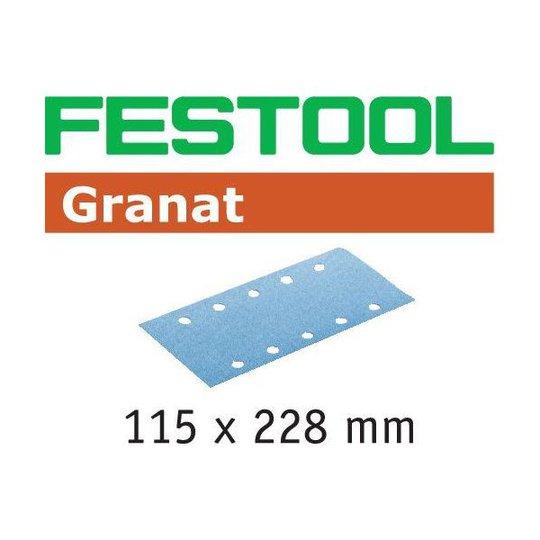 Festool STF GR Hiomapaperi 115x228mm 50 kpl. P150