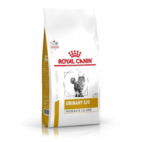 Royal Canin Veterinary Diets Cat Urinary S/O Moderate Calorie (1,5 kg)