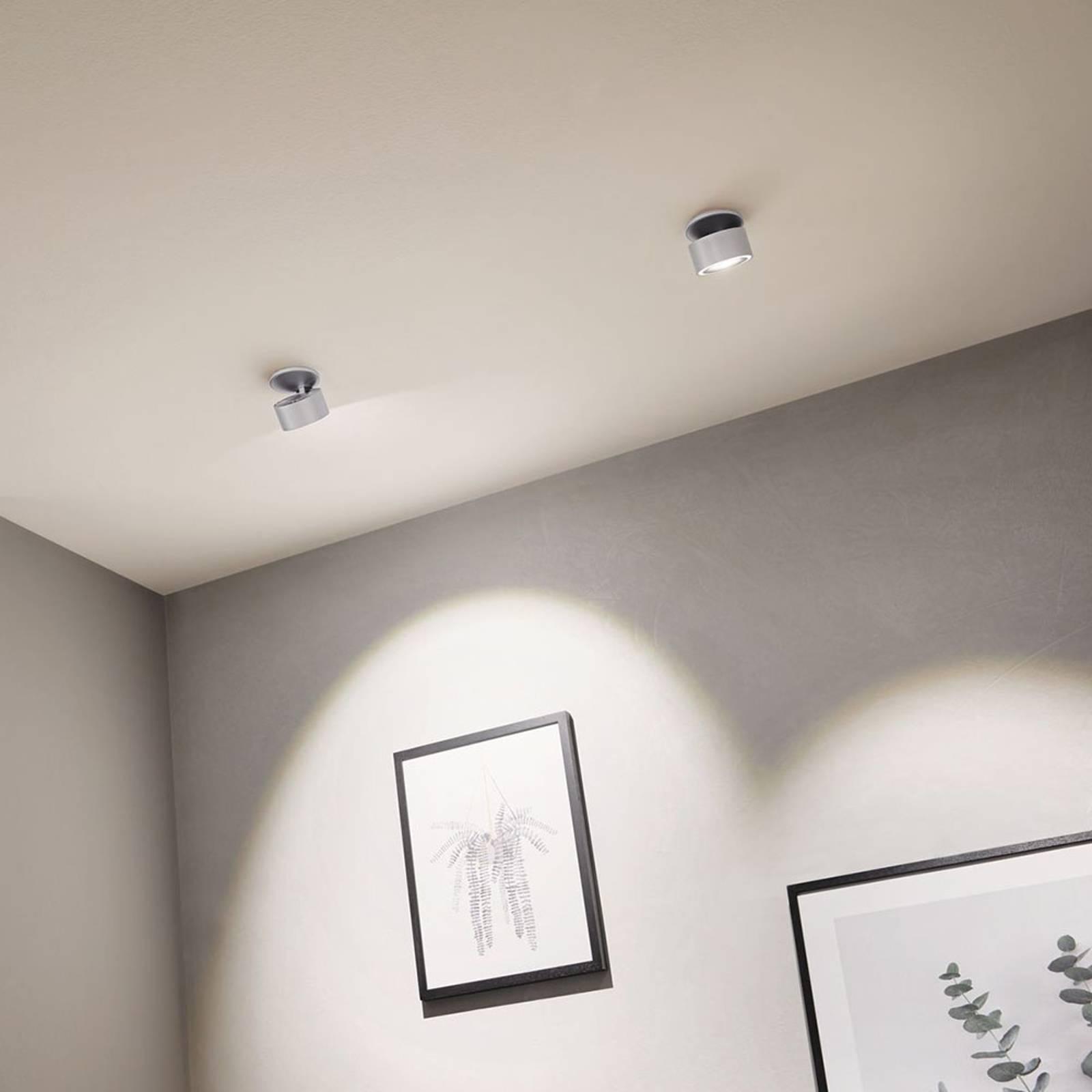 Paulmann Spircle -LED-uppovalaisin, mattakromi