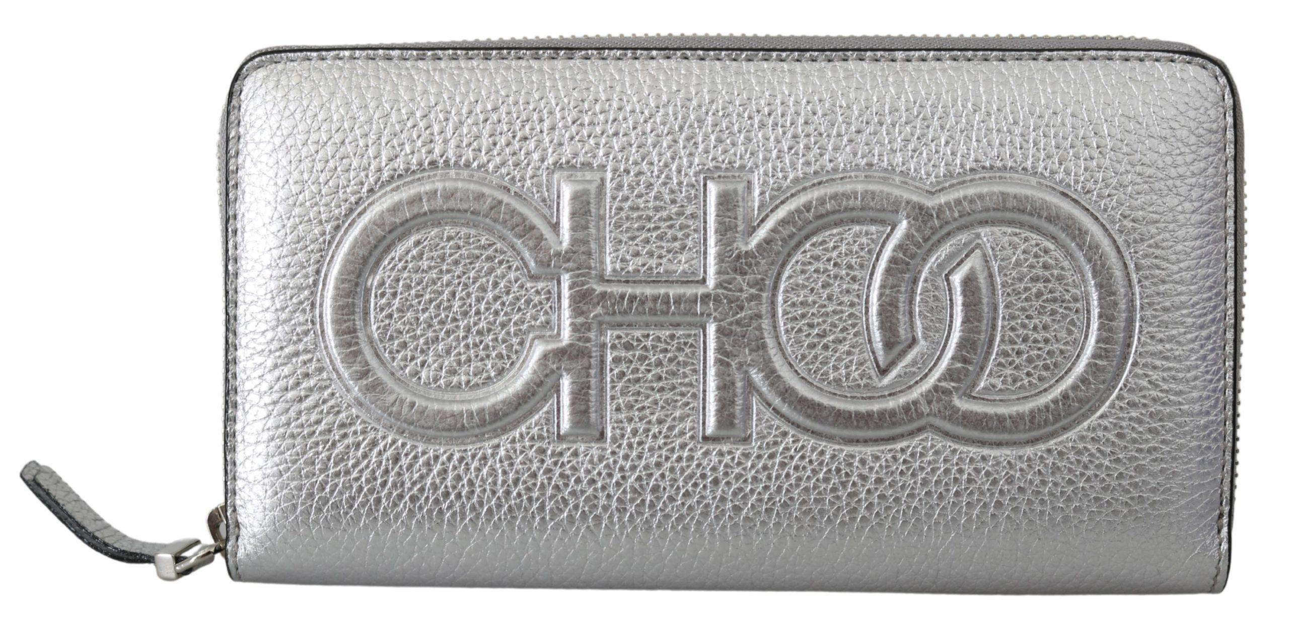 Jimmy Choo Women's Bettina Wallet Silver 1436020