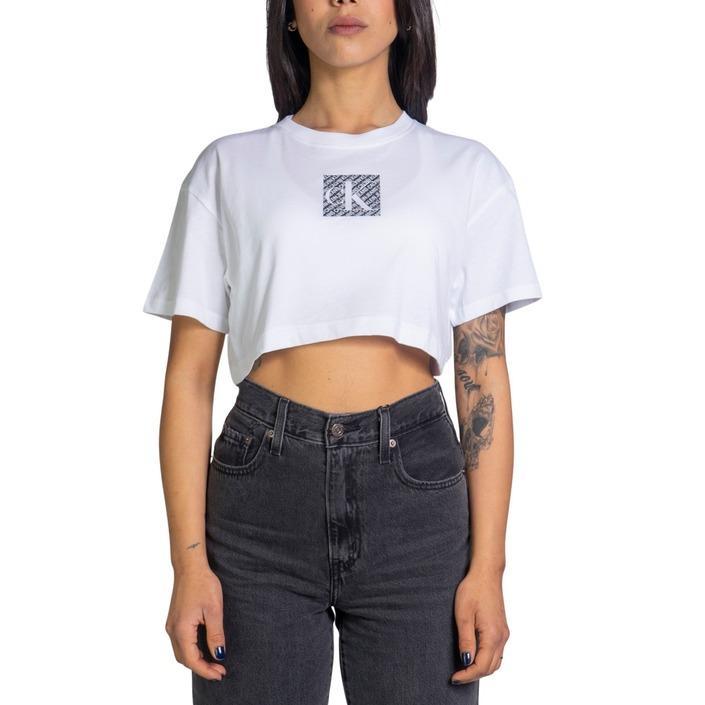 Calvin Klein Jeans Women's Tank Top White 218701 - white L