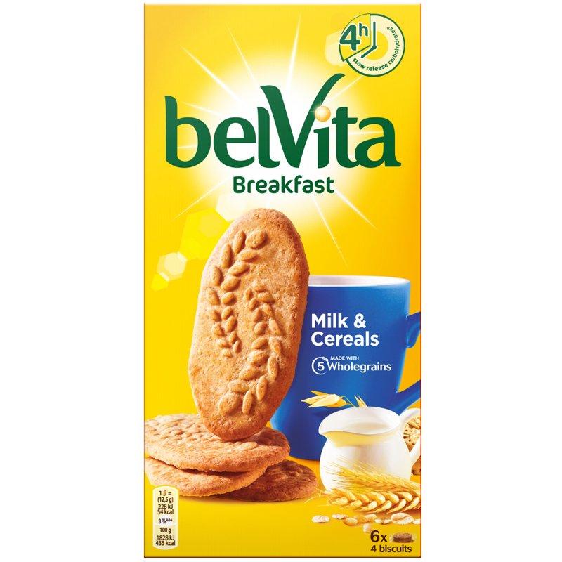 """Täysjyväkeksit """"Milk & Cereal"""" 300g - 50% alennus"""