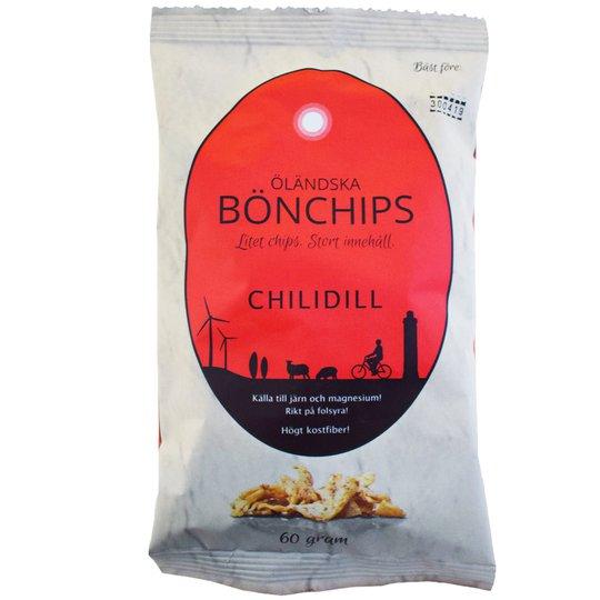 Bönchips Chilidill 60g - 50% rabatt