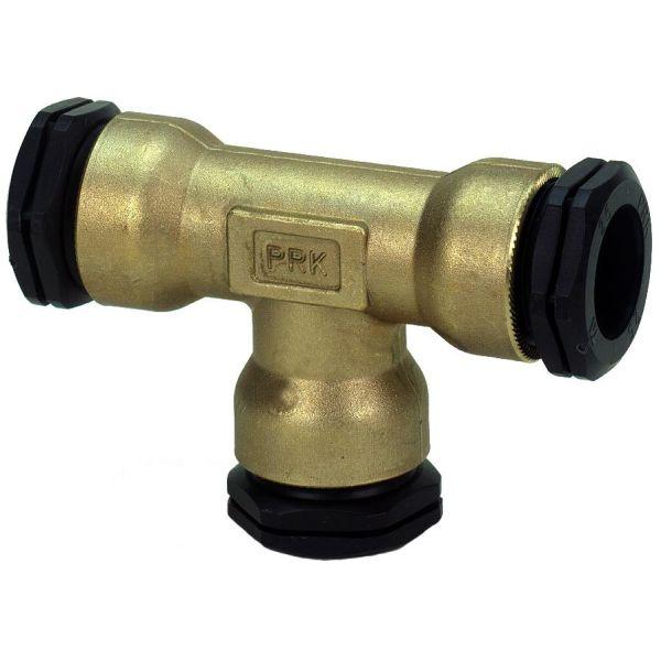 TA 3004048022 PEM-kobling metall, T-rør, plast-plast-plast 16 mm