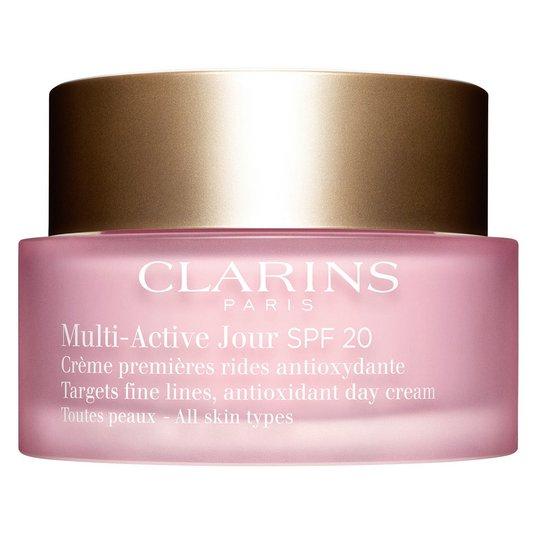 Multi-Active Jour SPF 20 for All Skin Types, 50 ml Clarins Päivävoiteet