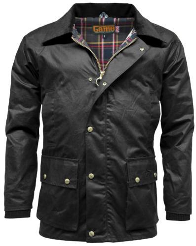 Game Technical Apparel Unisex Jacket Various Colours Barker - Black S