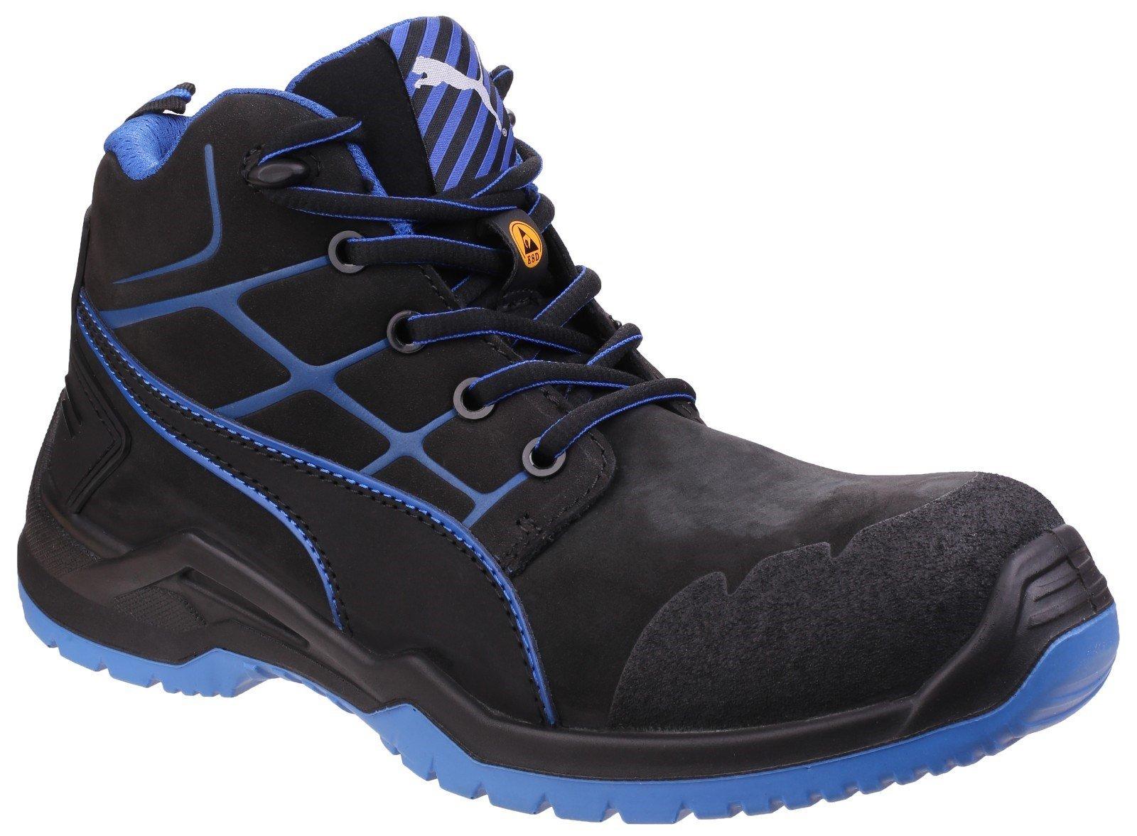Puma Safety Unisex Krypton Lace-up Boot Blue 25461 - Blue 13
