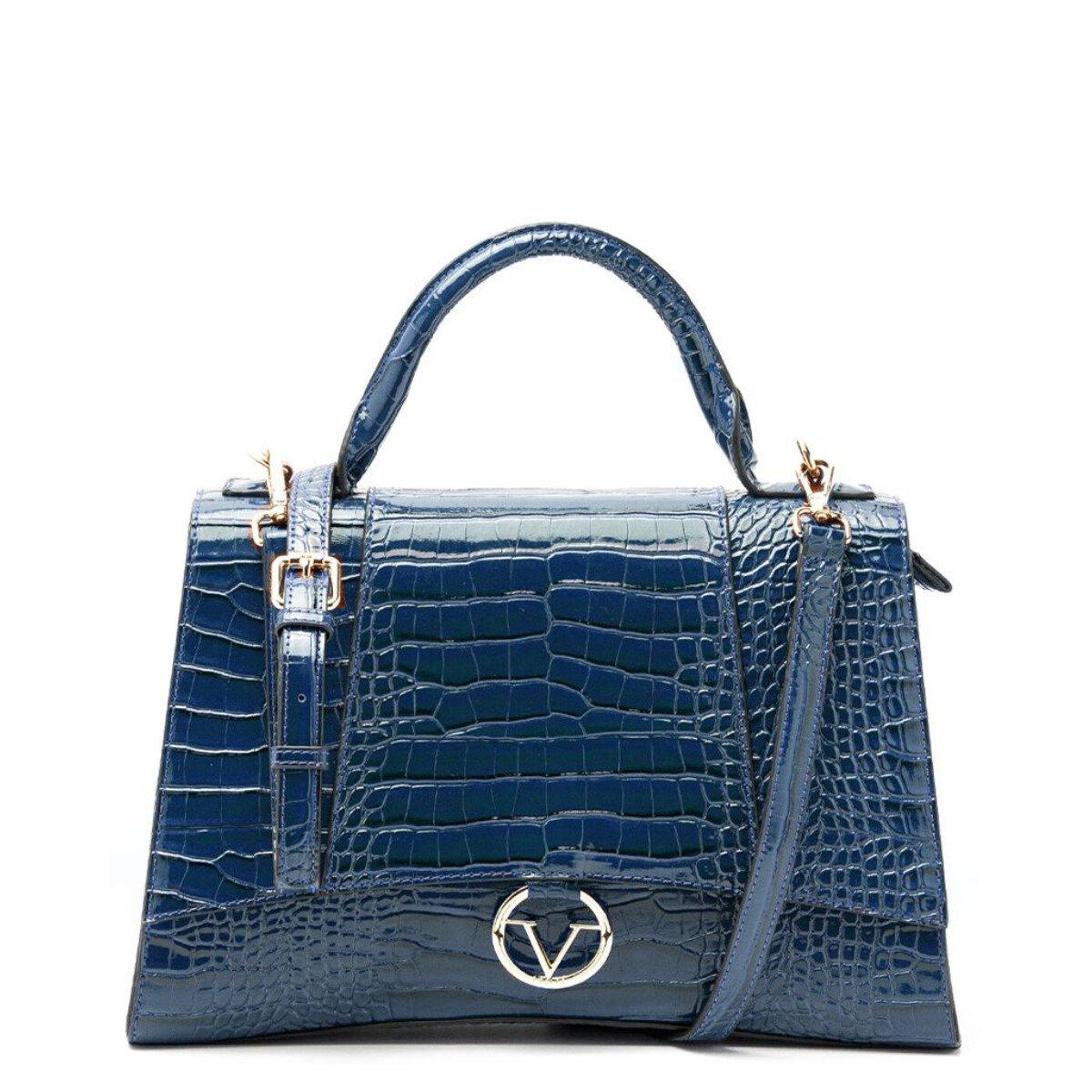 19v69 Italia Women's Handbag Various Colours 319022 - blue UNICA