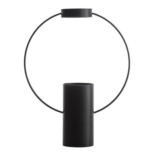 Sagaform - Moon Vas 30x23,5 cm Svart