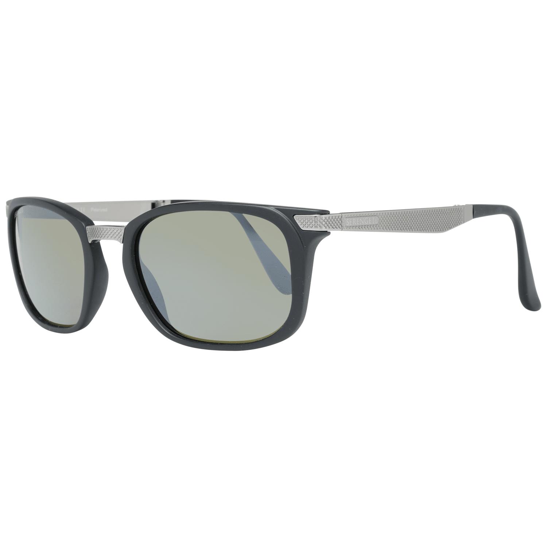 Serengeti Men's Sunglasses Black 8495